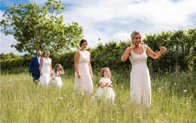 Ways to include children in your  Wedding Ceremony