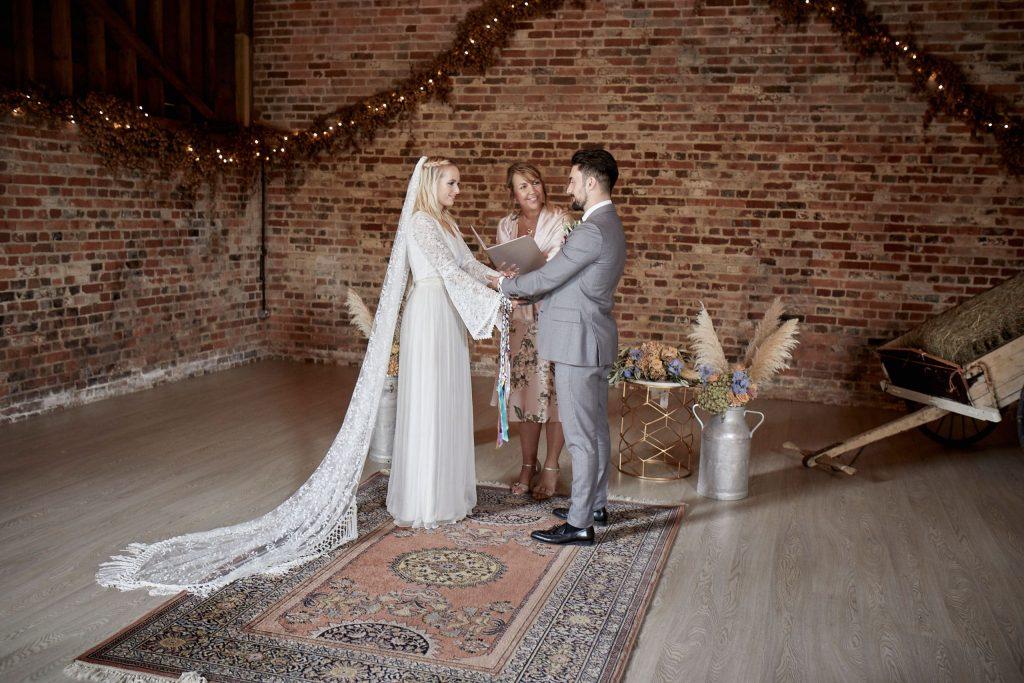 Beautiful Romantic Wedding Ceremony full of love