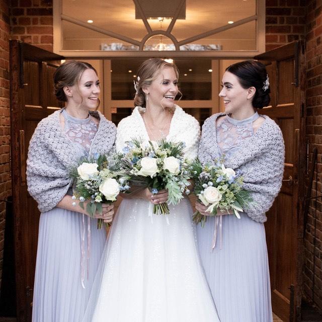 Pale Blue Winter Wedding colour scheme