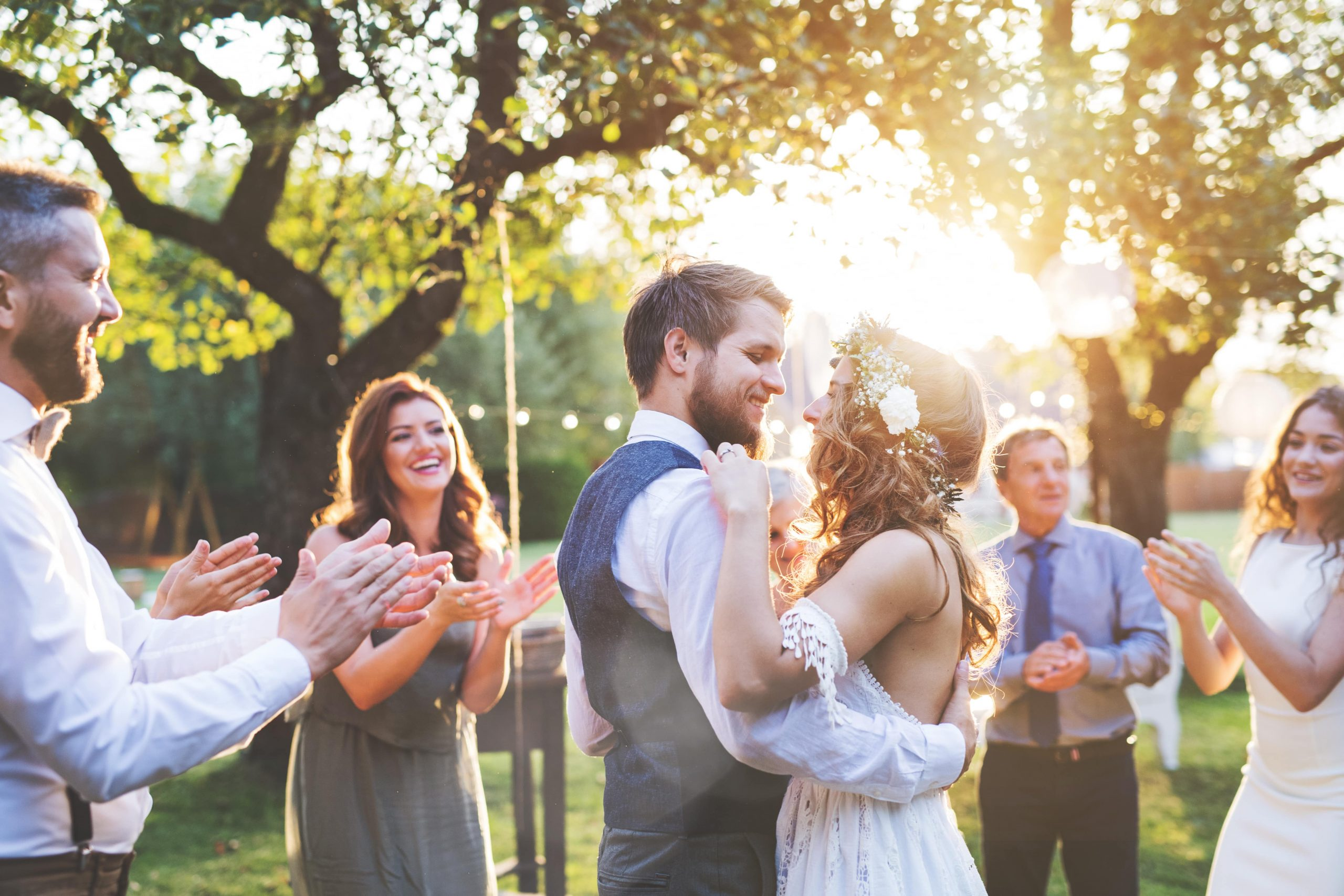 Outdoor small micro weddings