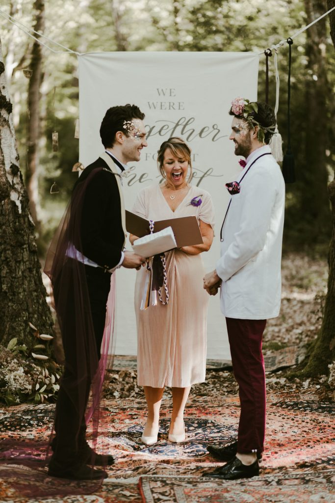 Woodland Elopement Ideas