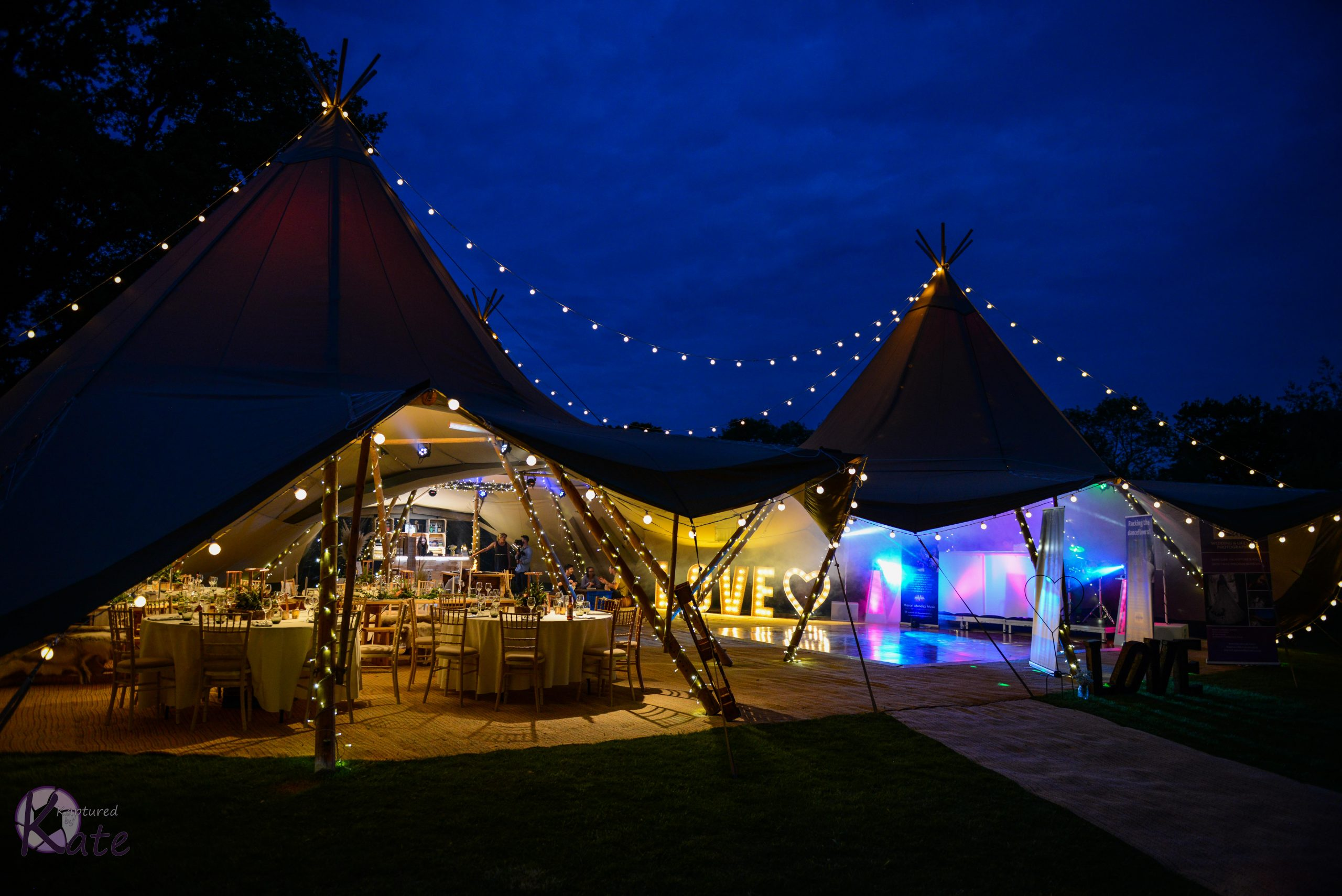 Outdoor Festival Wedding