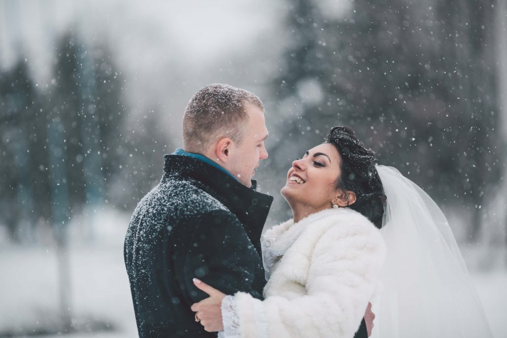 Ideas for your Winter Wedding in the snow