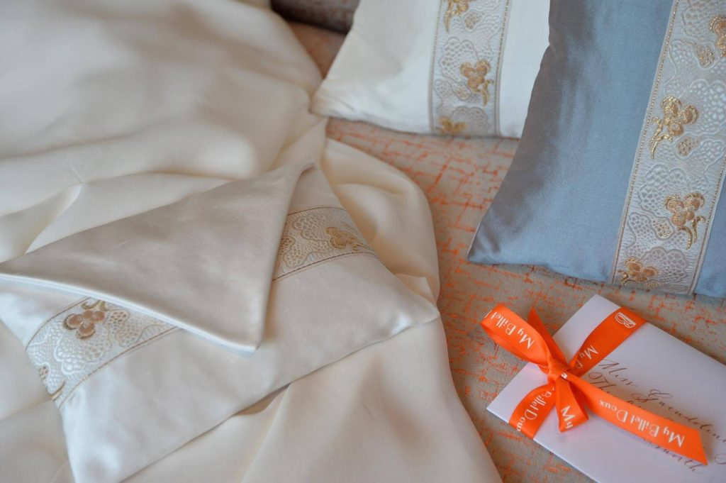 Beautiful Silk handmade Ring Cushions for your Ring Bearer