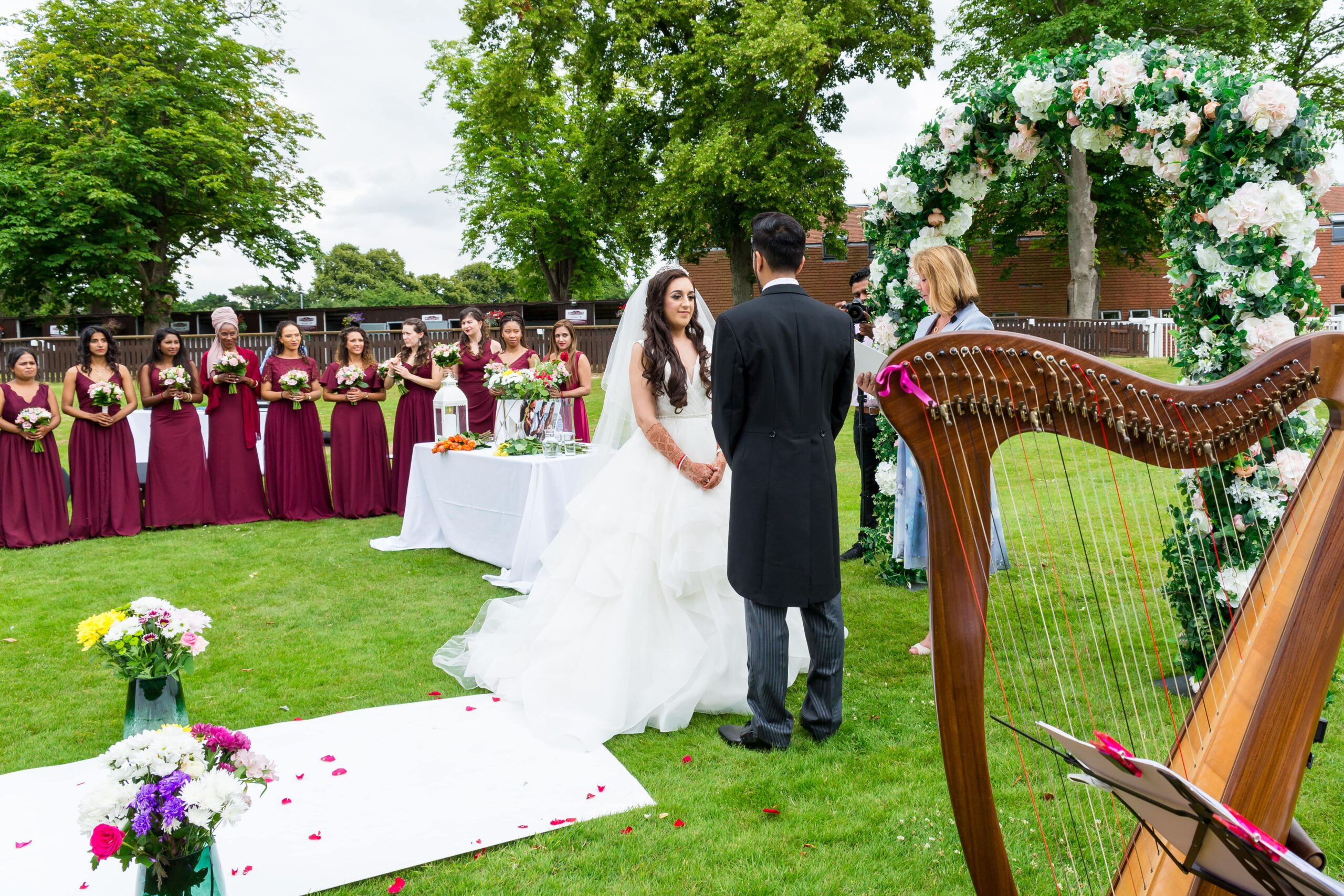 Asian Celebrant Wedding Ceremony