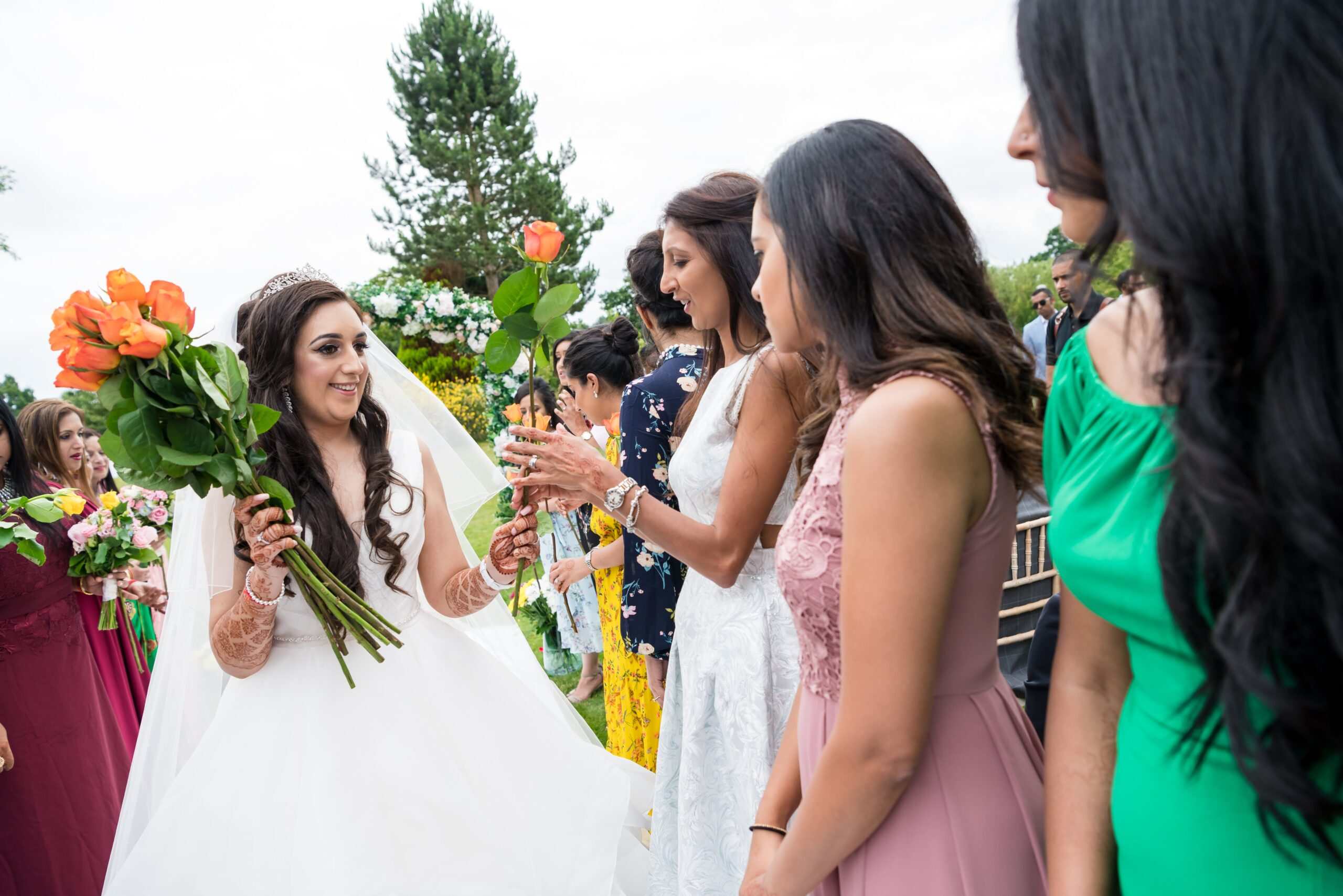 The Rose Ceremony in an Asian Wedding